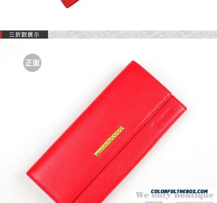 Genuine Special Chian Famous Brand Genuine Leather Ladies Wallets Bags - detail images