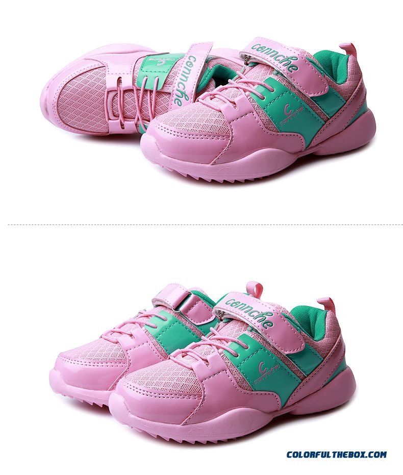 Girls Kids Shoes Net Shoes Breathable Mesh Casual Running Shoes Low Price Good Quality - detail images