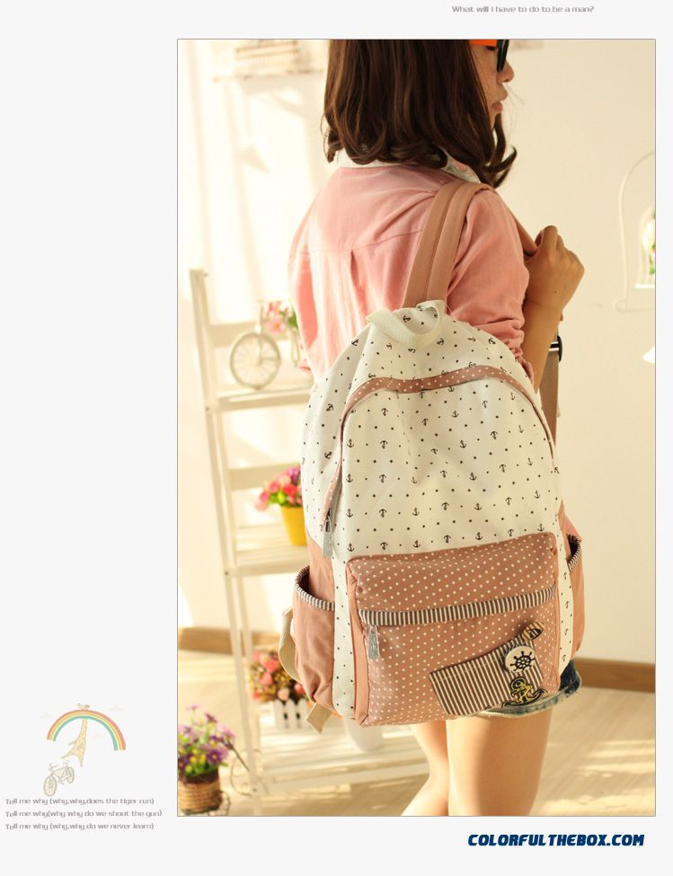 d959387652 ... Girls School Bags Canvas Backpack Women Yong Printing Zipper Bags Free  Shipping - detail images ...