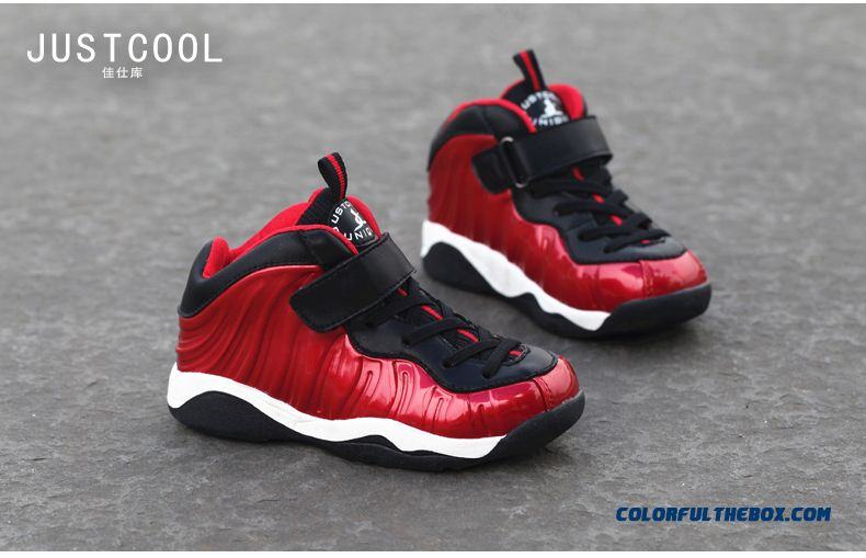 Hot Sale!!! Boys Sports Shoes Kids Casual Shoes 2016 New Basketball Shoes - detail images