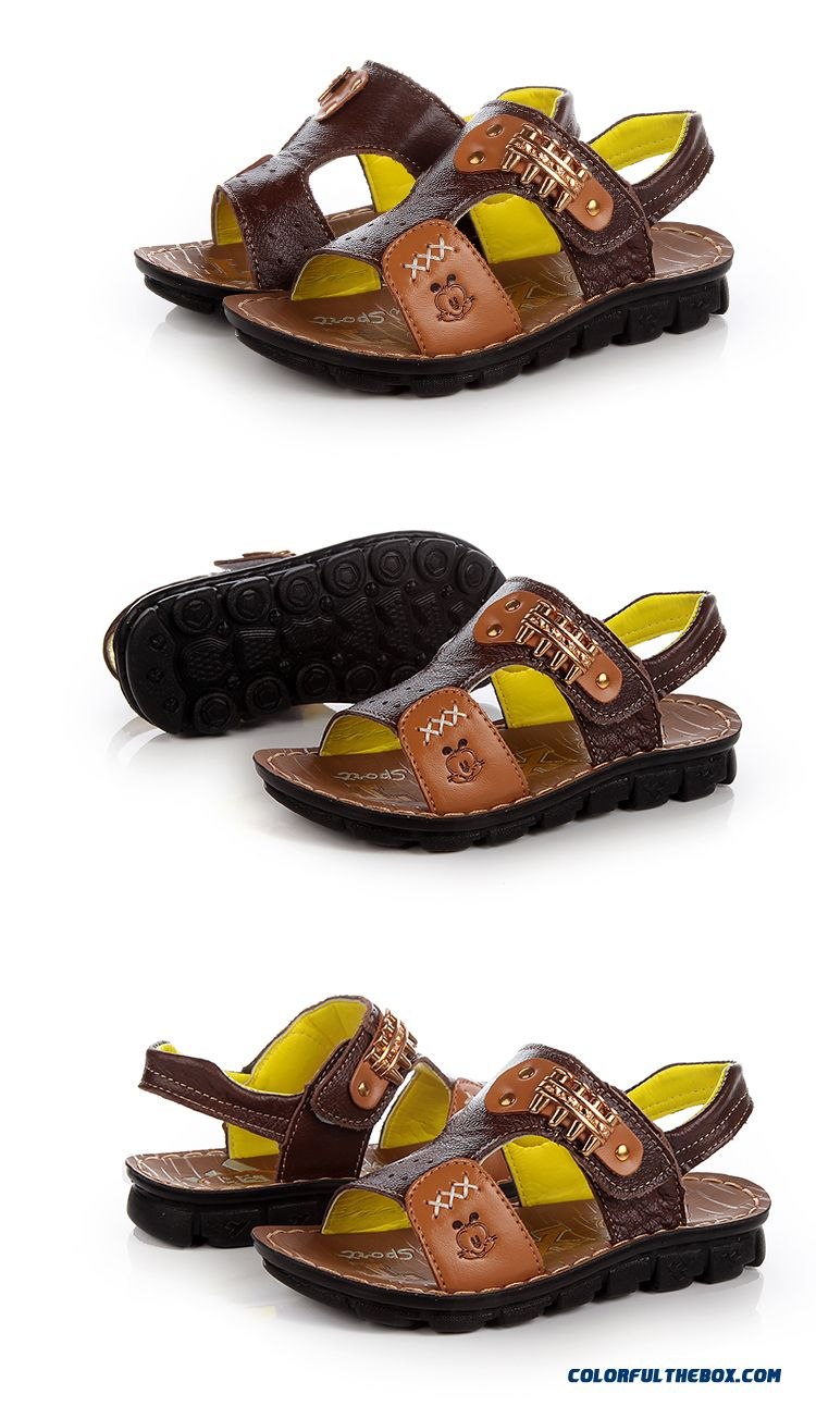 Cheap Kids Shoes Children S Kids Leather Sandals Car