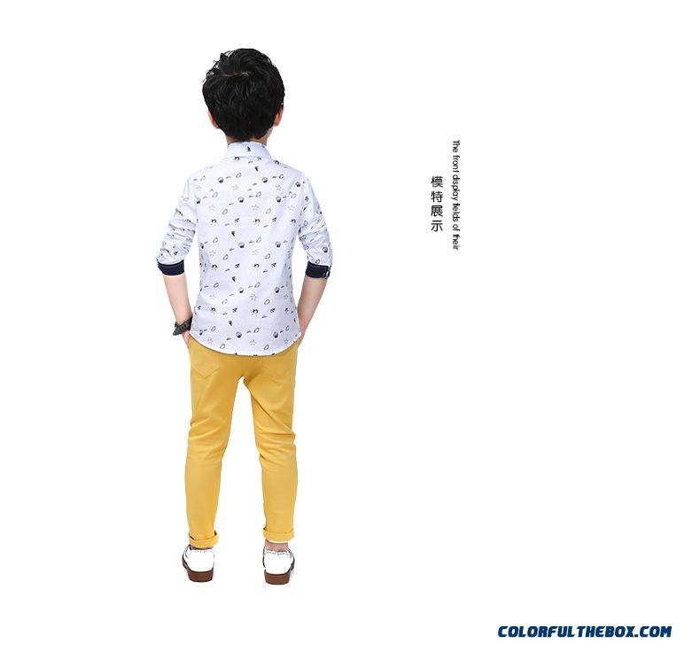 Korean Version Of The 2016 Spring New Shirt Temperament Kids'clothing - detail images