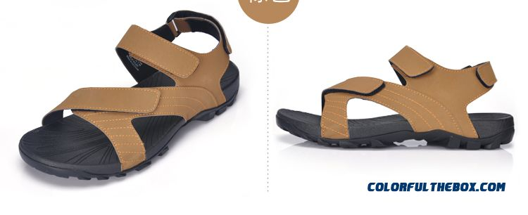 Men's Sports And Casual Beach Shoes Summer Sandals Absorb Sweat - detail images