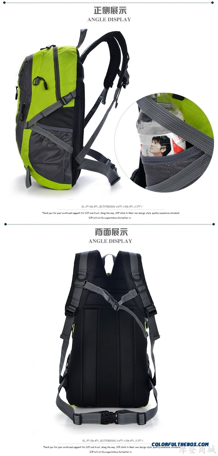 39f3debf4293 ... New 2016 Elderly Men s Large-capacity Outdoor Backpack Shoulder Bag  Men s Travel Bag - detail ...