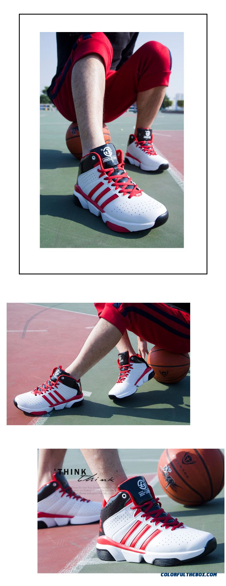 New Breathable Shoes Men Wearable Lightweight Non-slip Sport - detail images