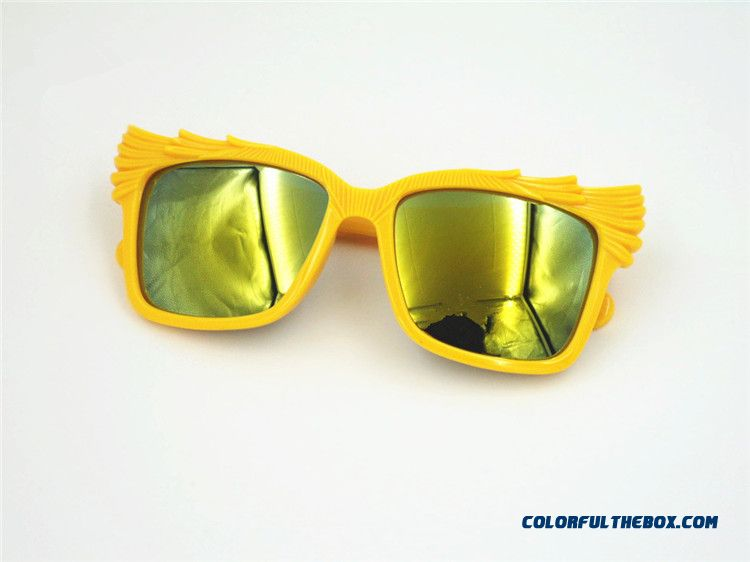 New Kids Sunglasses Cute Kids Sunglasses Boys And Girls Fashionable Light Shielding Radiation Protection Glasses - detail images
