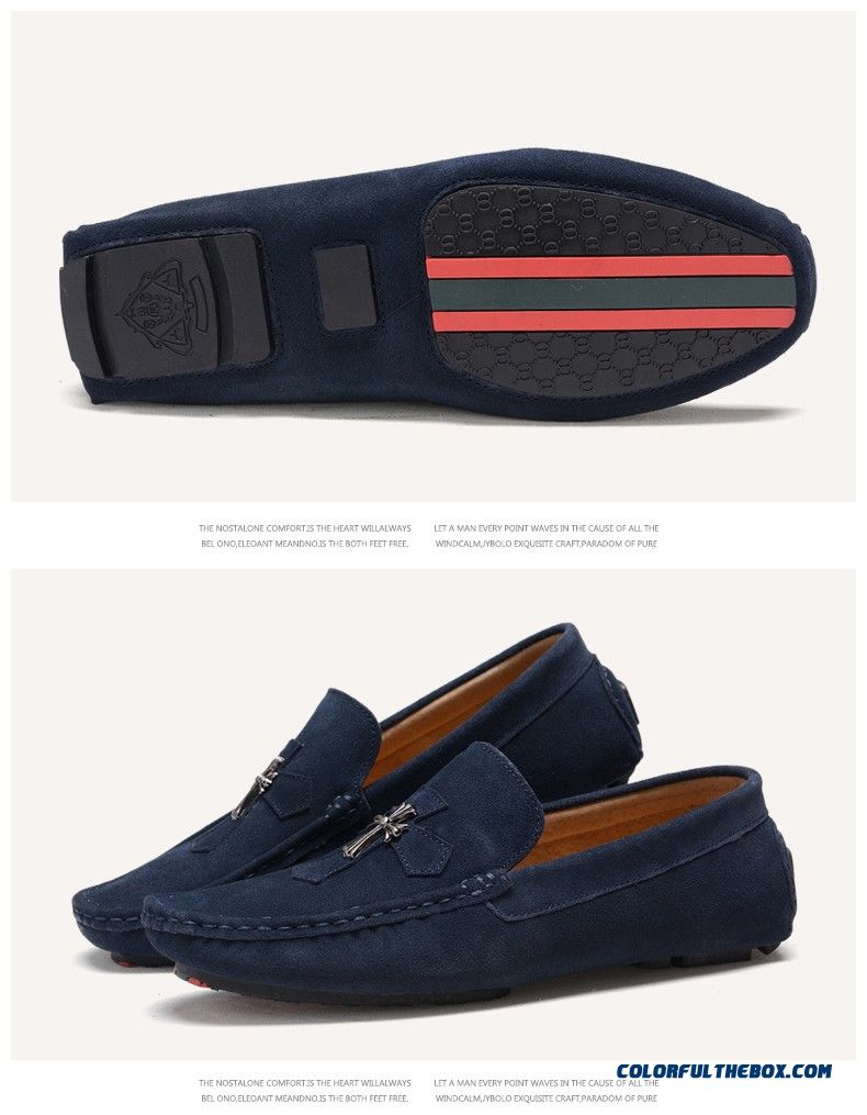 Men S Pull On Flat Shoes
