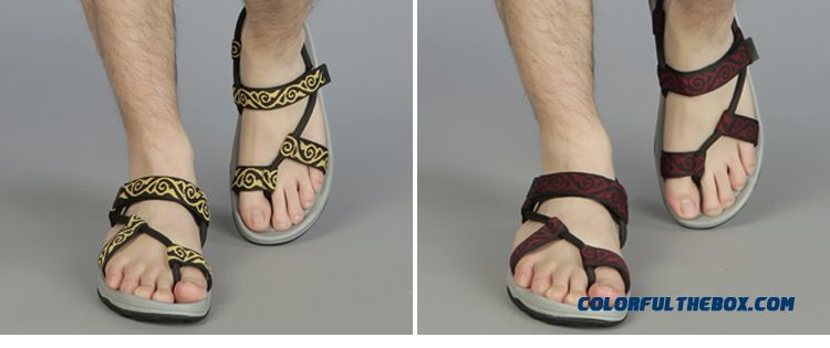 4ef481456e92 ... Outdoor Men Sandals Couple Beach Shoes Rome Simple And Stylish - detail  images ...