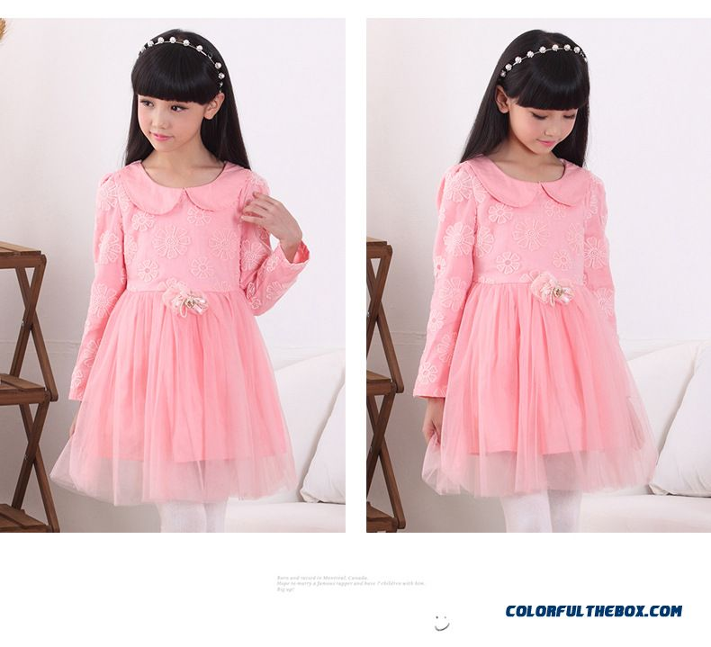 44ab72b47e4 ... Solid Color Summer Cute Girls Dress Special Offer Kids Clothing -  detail images