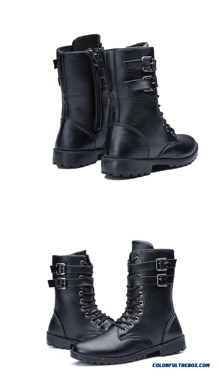 cheap special offer men u0026 39 s martin boots fashion korean version of the trend sale online