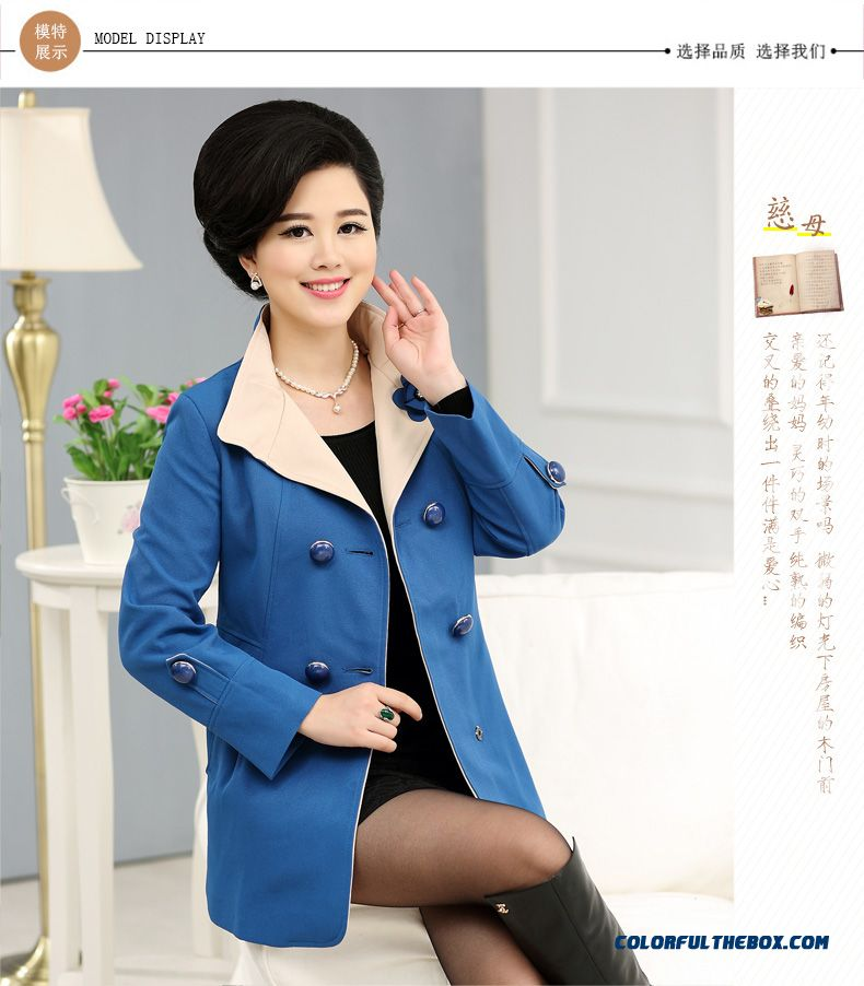 Cheap The Elderly Women Ladies Spring Clothes Suit Spring