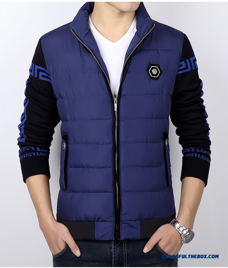1926c9447 Cheap The New Men's Winter Padded Cotton Tide Youth Thick Warm Plus ...