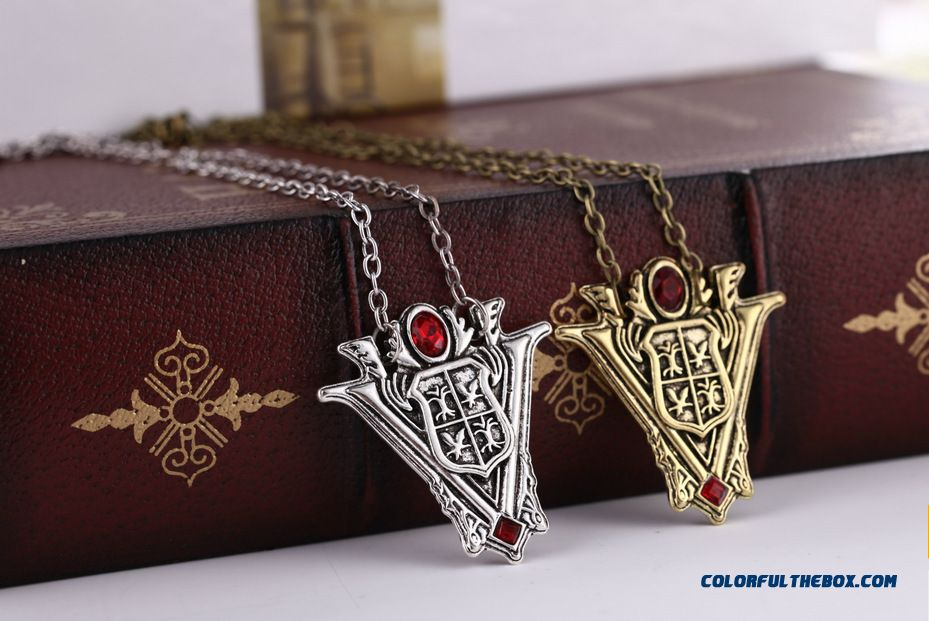 Tower Clock Necklaces New Women's Jewelry Factory Direct - detail images