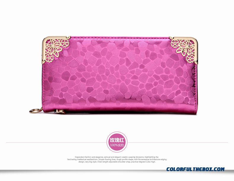 Wallet Women Long Section Lady Zipper Wallet Clutch New Women Phone Purse - detail images