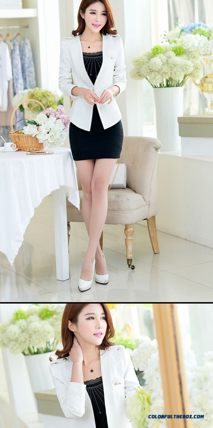 Cheap Wholesale Hot Style Of New Small Suit Coat Women