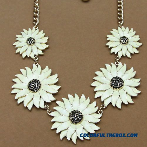 Women Fine Jewelry Supply Wholesale Primer Big Names Flowers And Jewelry Brand Free Shipping Necklace - detail images