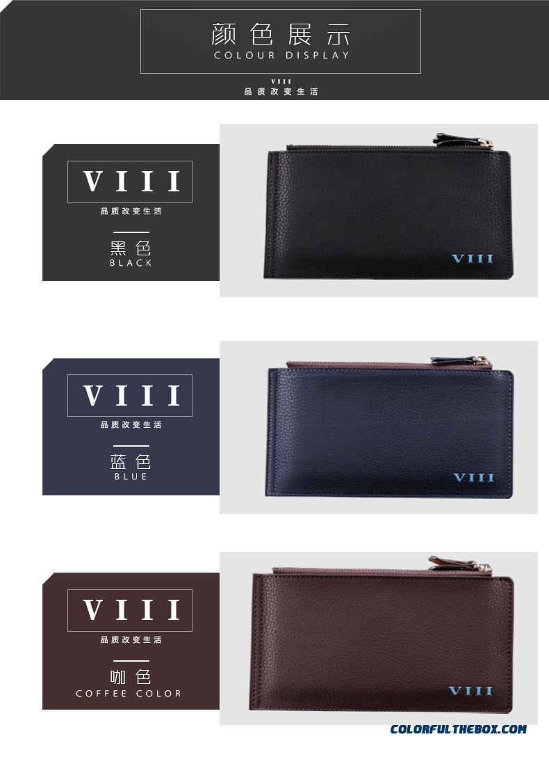 Cheap Young Men Wallets Long Card Holder Business Personalized ...