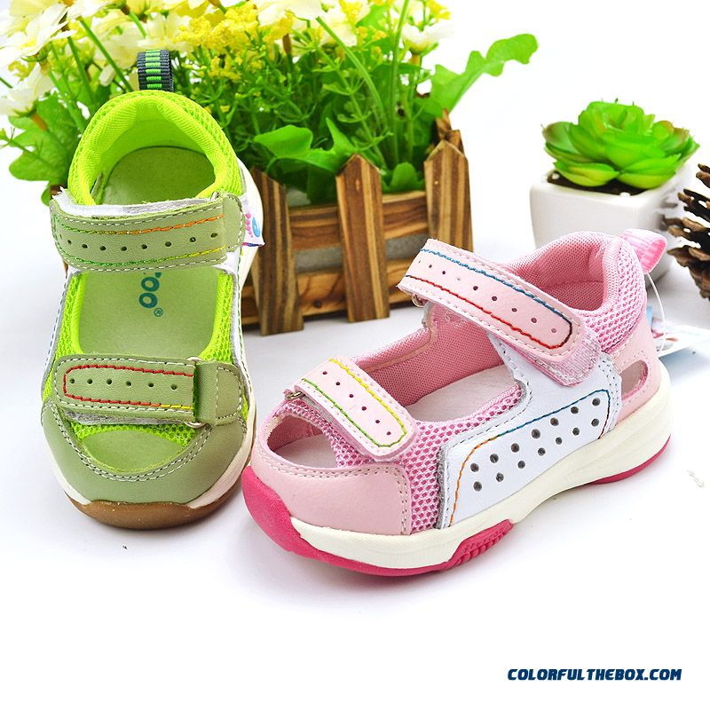 1-2-3-4 Years Old Girl Baby Comfortable And Breathable High Quality Sandals Kids Shoes - more images 1