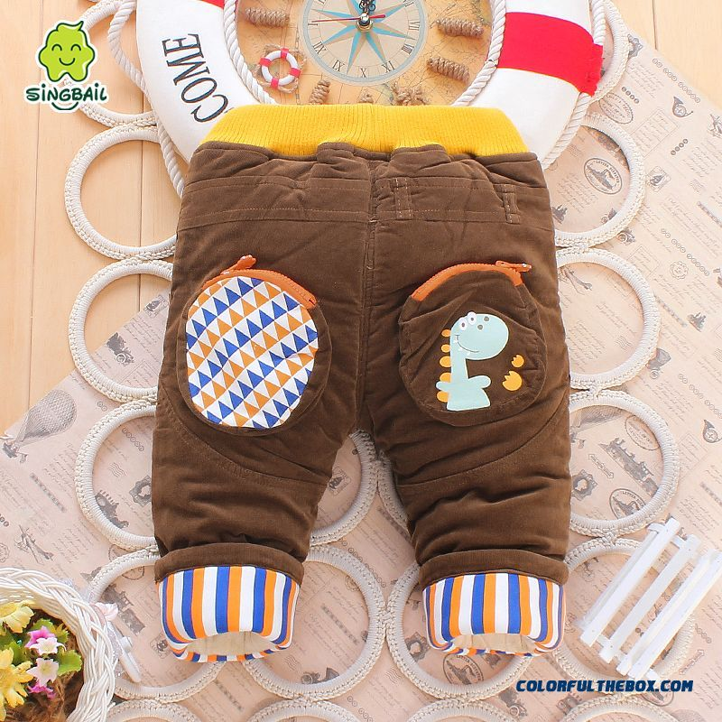 1-2-3 Year Old Pants Long Pants Skin-friendly Fabrics Romantic Winter Warmth Kids Pants - more images 2