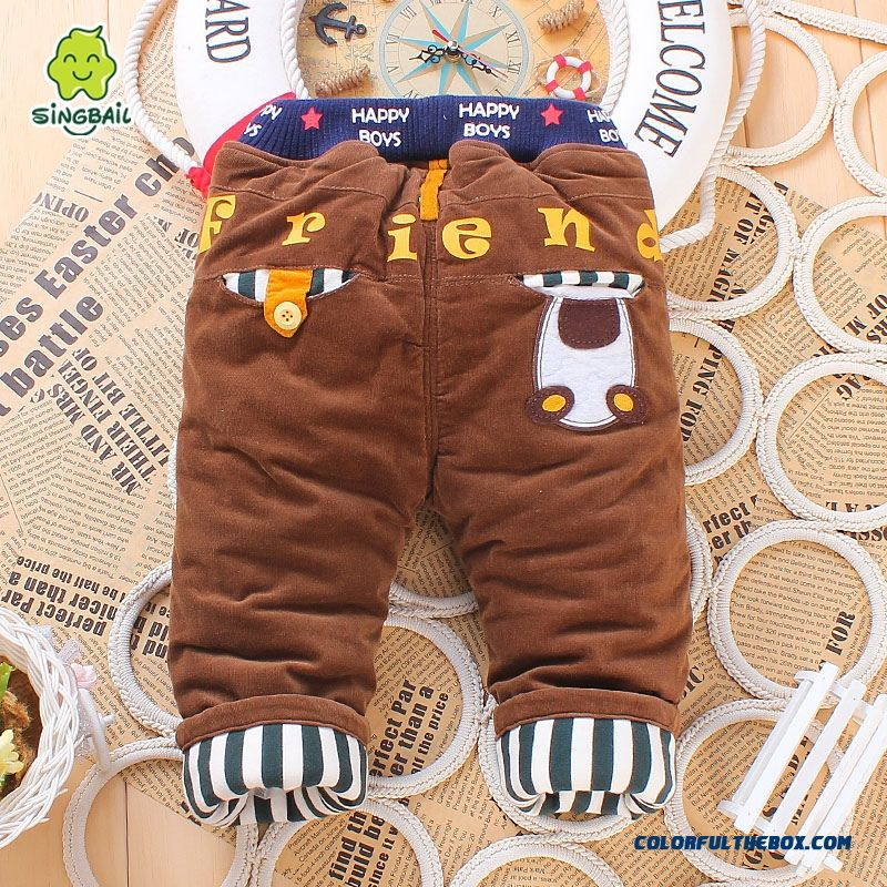 1-2-3 Year Old Pants Long Pants Skin-friendly Fabrics Romantic Winter Warmth Kids Pants - more images 4