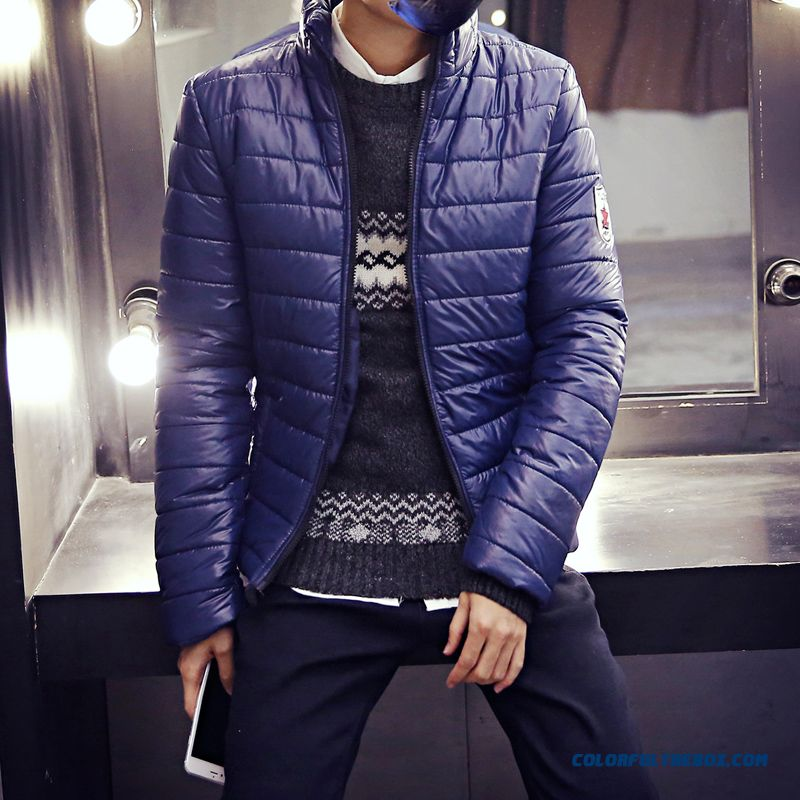 c1b267b3b7dfc 2015 Autumn Winter Hot Selling Thicken Blue Large Size Young Coats