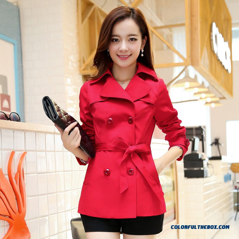 2015 New Spring And Autumn High Quality Women's Coat Fashion Slim Large Size