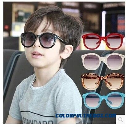 fe3af6b6a02 2016 Authentic Children s Sunglasses Baby Boys And Girls Uv Protective  Eyewear Dark Glasses Kids Sunglasses Fashion