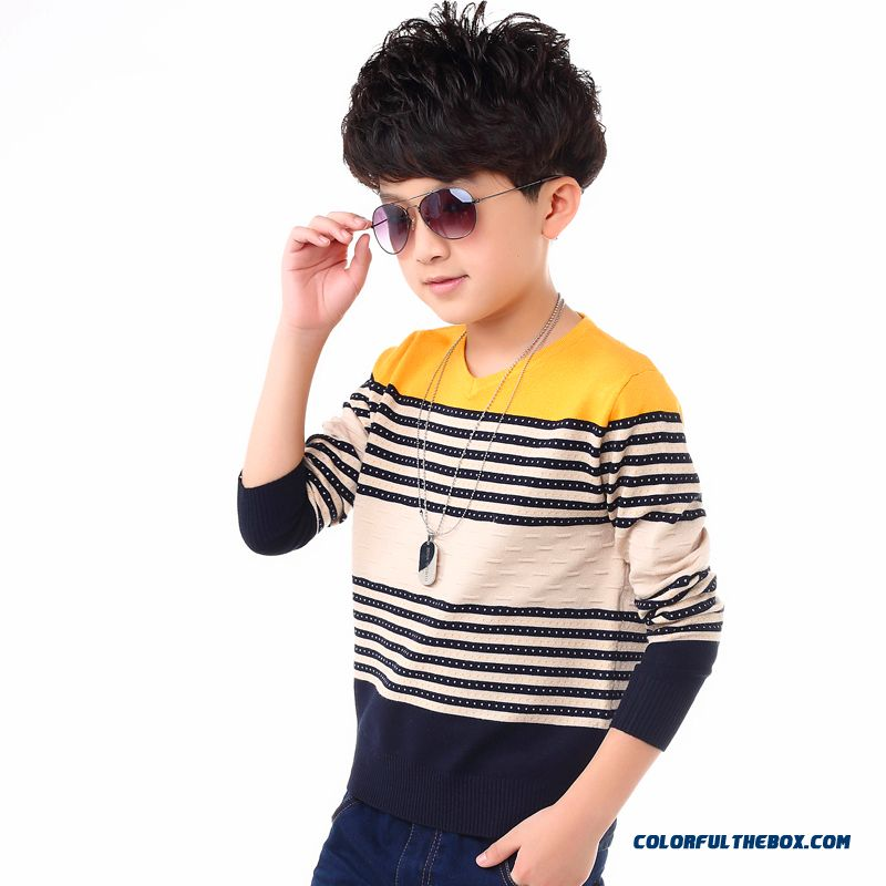 2016 Boys Kids' Sweater Pullover Sweater New Sweater Clothing Fashionable