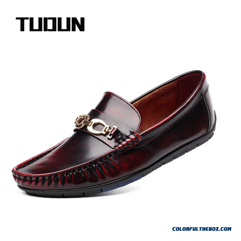 2016 Genuine Leather Men Shoes, Soft Leather Men Loafers, Casual Men Flats Men Oxfords For Sale