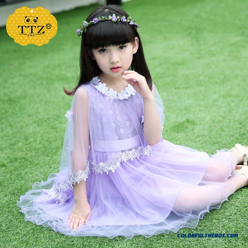 2016 Kids Girls Summer Upscale Boutique Dress Cheap Closeout