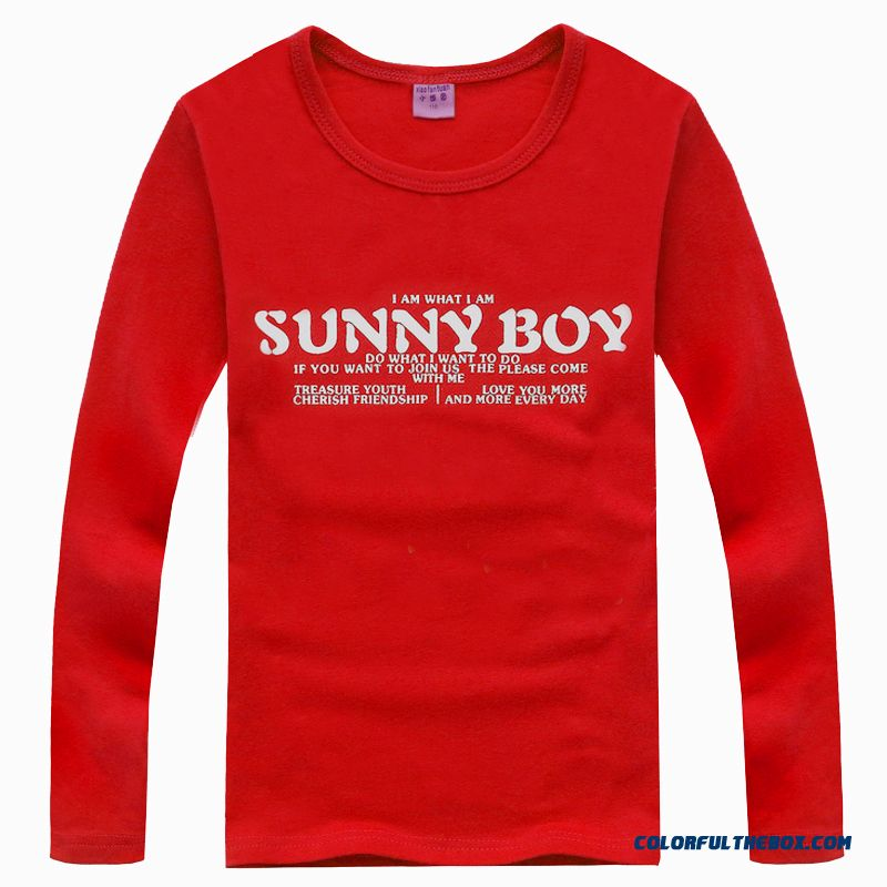 2016 New Genuine Brand Designer Close-fitting Comfortable Kids Boys T-shirt