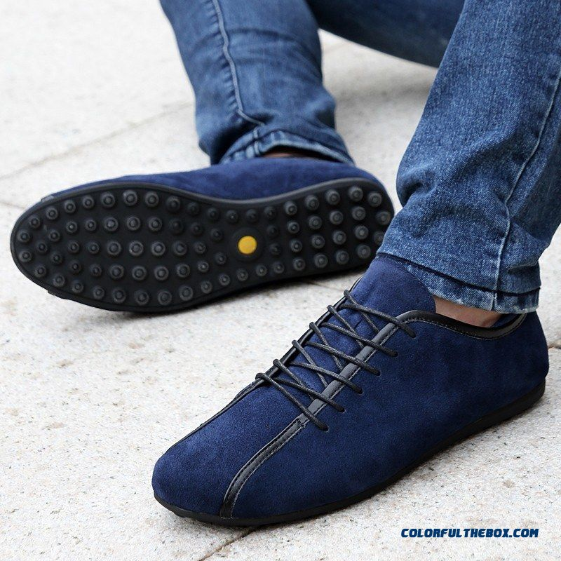 2016 New Nubuck Leather Men Shoes Spring Male Casual Shoes Fashion Leather Shoes Loafers For Sale