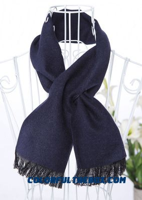 2016 Winter Fine Cashmere Short Luxurious Practical Design Men's Scarves