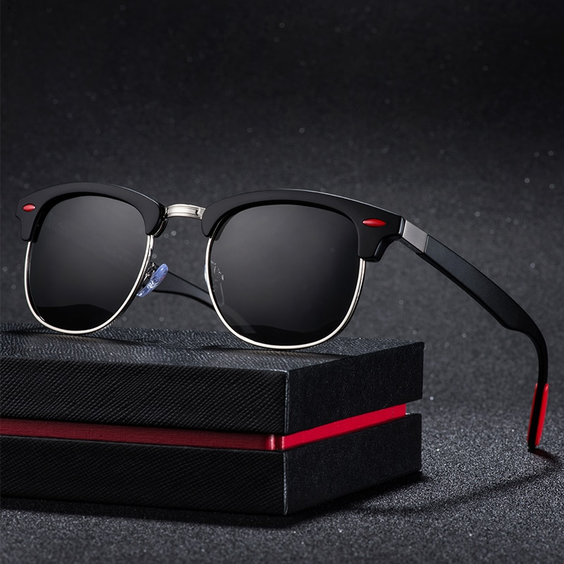 2019 Polarized Sunglasses Men's Driving Shades Male Sun Glasses For Men Retro Cheap Luxury Women Brand Designer Uv400 Gafas