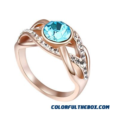 Austrian Crystal Ring - Style Swaying Women Free Shipping Fashionable Fine Jewelry