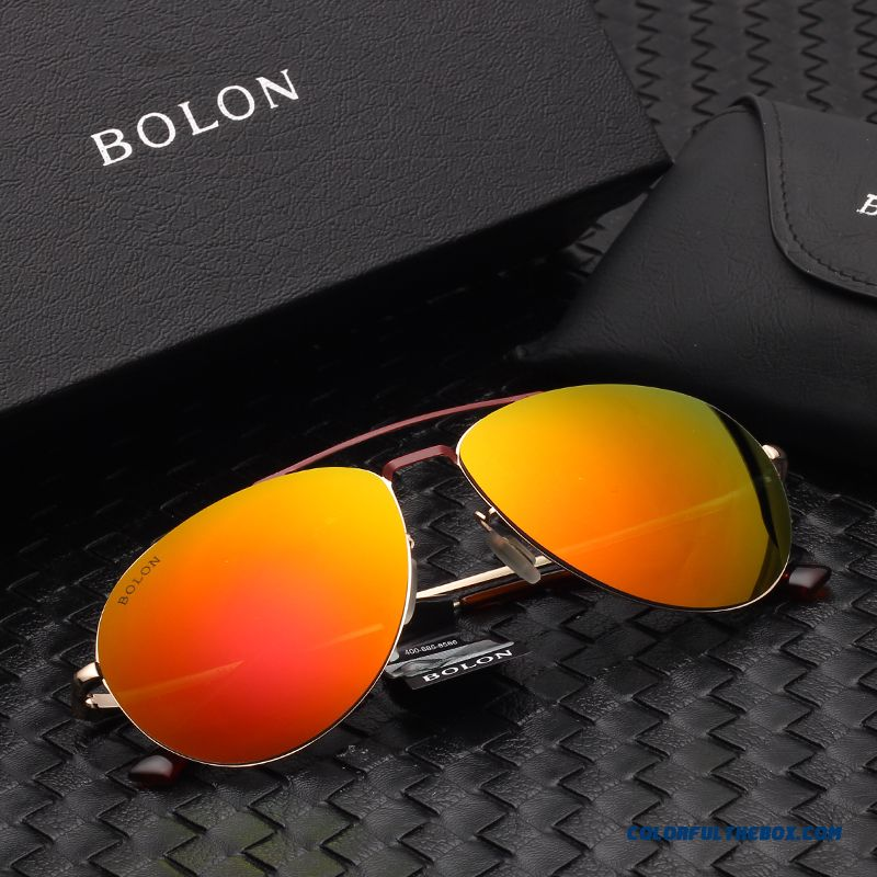 Authentic Bolon Sunglasses Men Polarized Driving Goggles Driving Mirror Dark Glasses Models