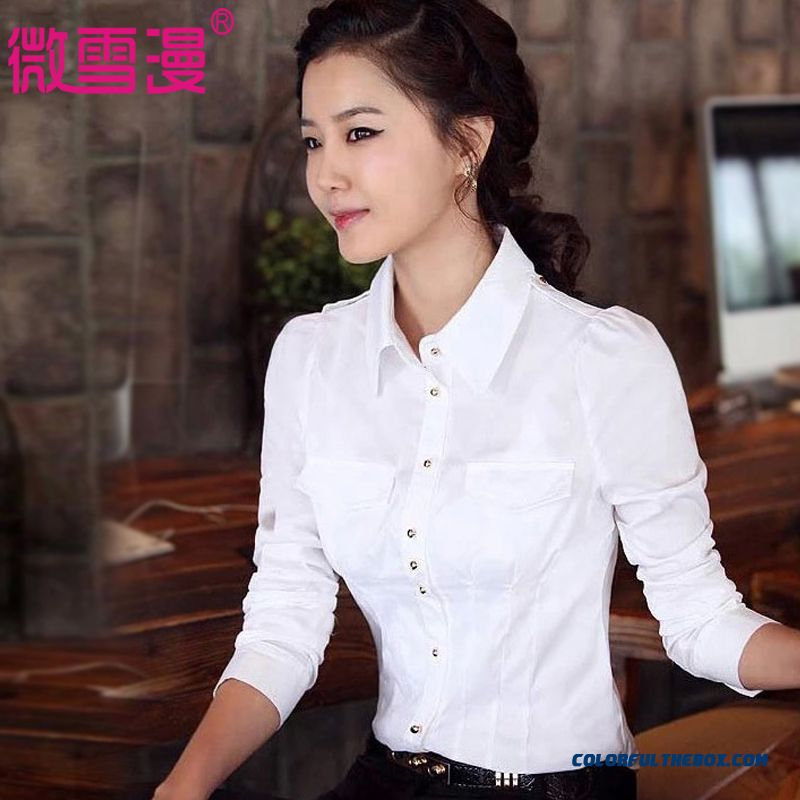 Autumn And Winter Large Size Long Sleeve Shirt Medium Style Of Blouses Soft