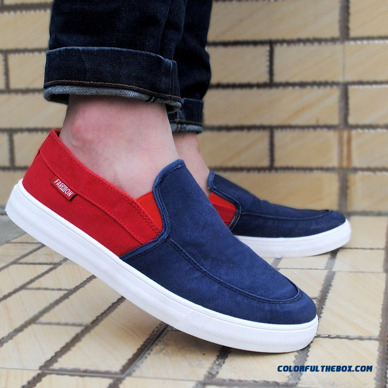 Autumn And Winter Spell Color Canvas Shoes Tide Of Youth Men Casual Shoes