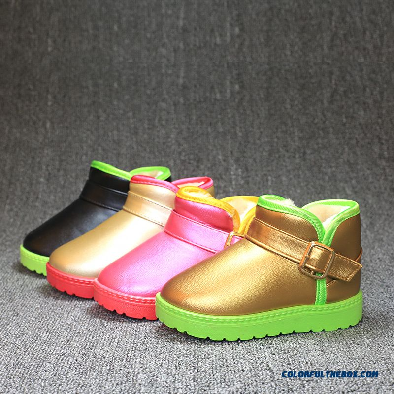 Baby Boots Waterproof Antiskid Shoes Free Shipping For Girls Kids