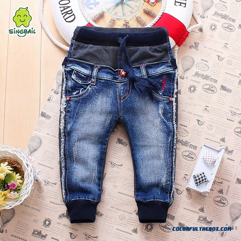 Baby Boys And Girls Jeans Long Pants Kids Clothing Clearance