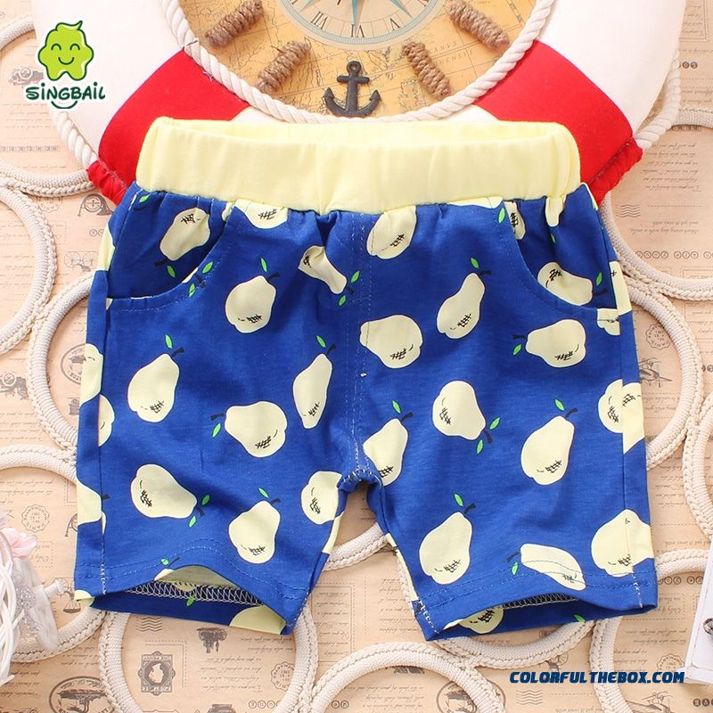 Baby Fifth Pants Boys And Girls Pants Summer Lids Clothing Free Shipping