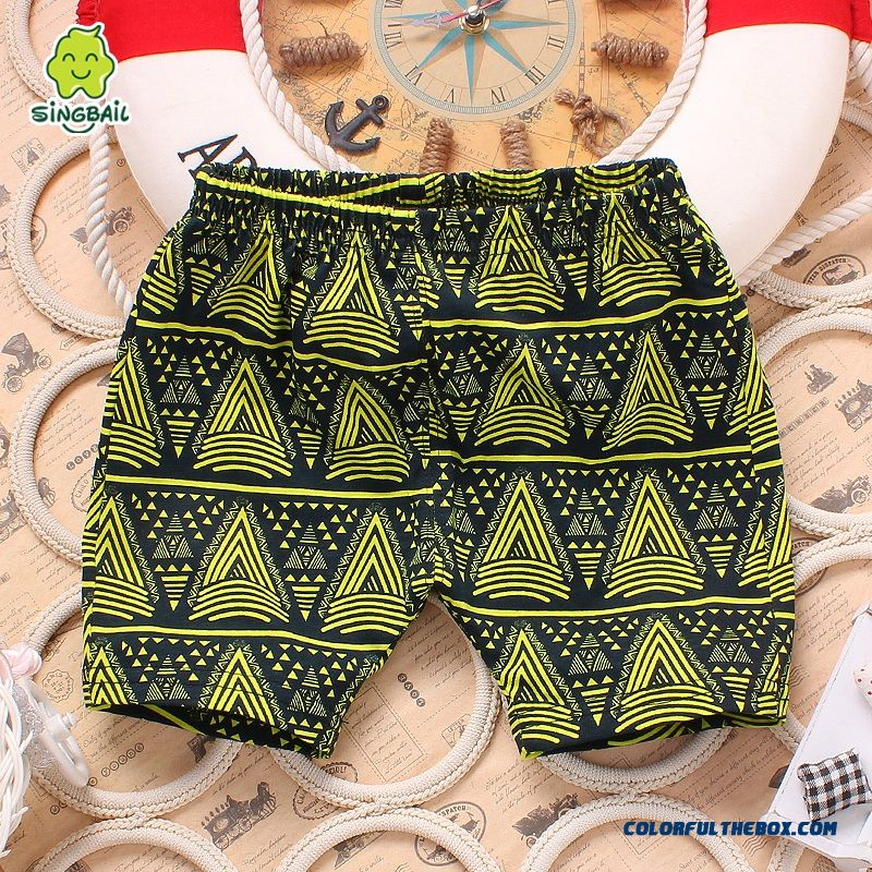 Baby Fifth Pants Boys And Girls Pants Summer Lids Clothing Free Shipping - more images 3