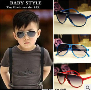 Baby Goggles Large Fream Boy Lids Decorative Sunglasses Cool Accessories