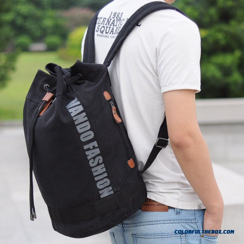 Backpack For Student Teenager Men Bucket Bag Personality Design Fashion Bags Free Shipping