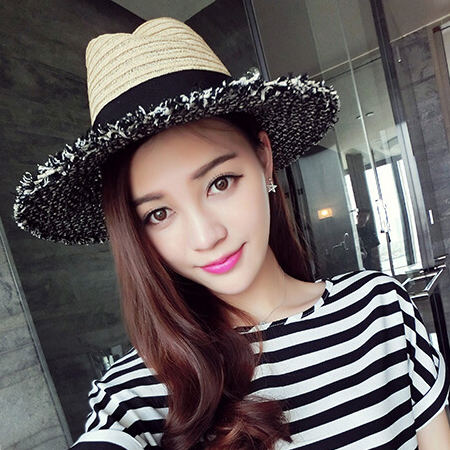 Bargain Price Ladies Lattice Fringes British Style Retro Ladies Women Fashion Spring Hats
