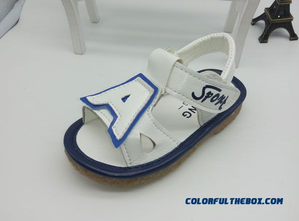 Beach Shoes Network Shoes Baby Boys And Girls 1-3 Years Old Delicate Shoes Sandals - more images 1