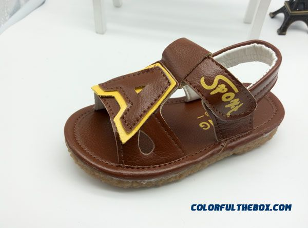 Beach Shoes Network Shoes Baby Boys And Girls 1-3 Years Old Delicate Shoes Sandals - more images 2