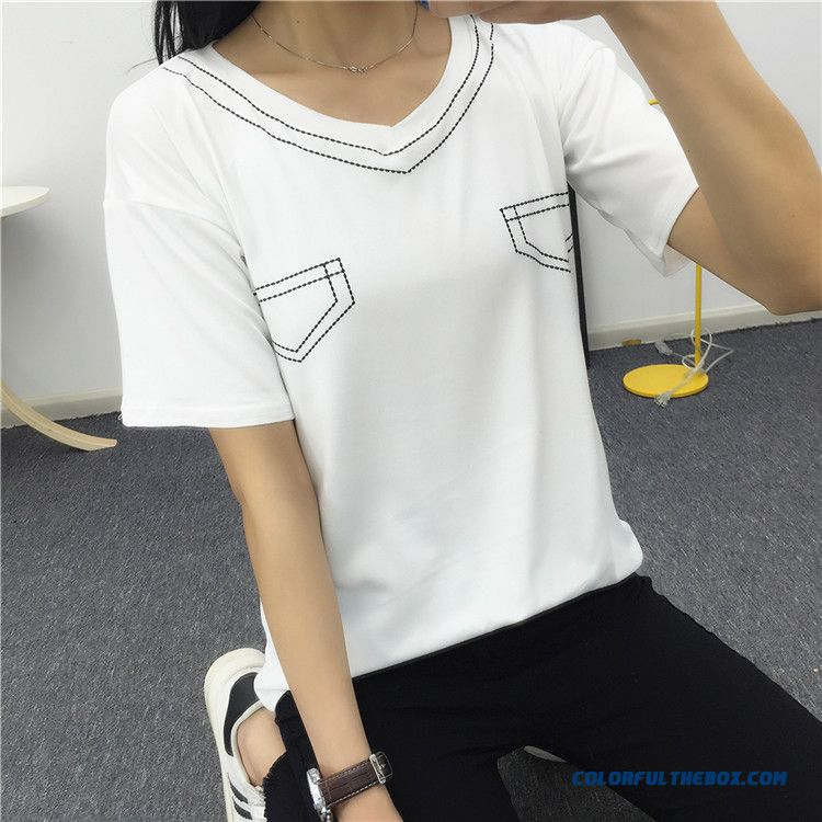 Bf Style Women's Clothing T-shirt Lady Short-sleeved Low Price Wholesale