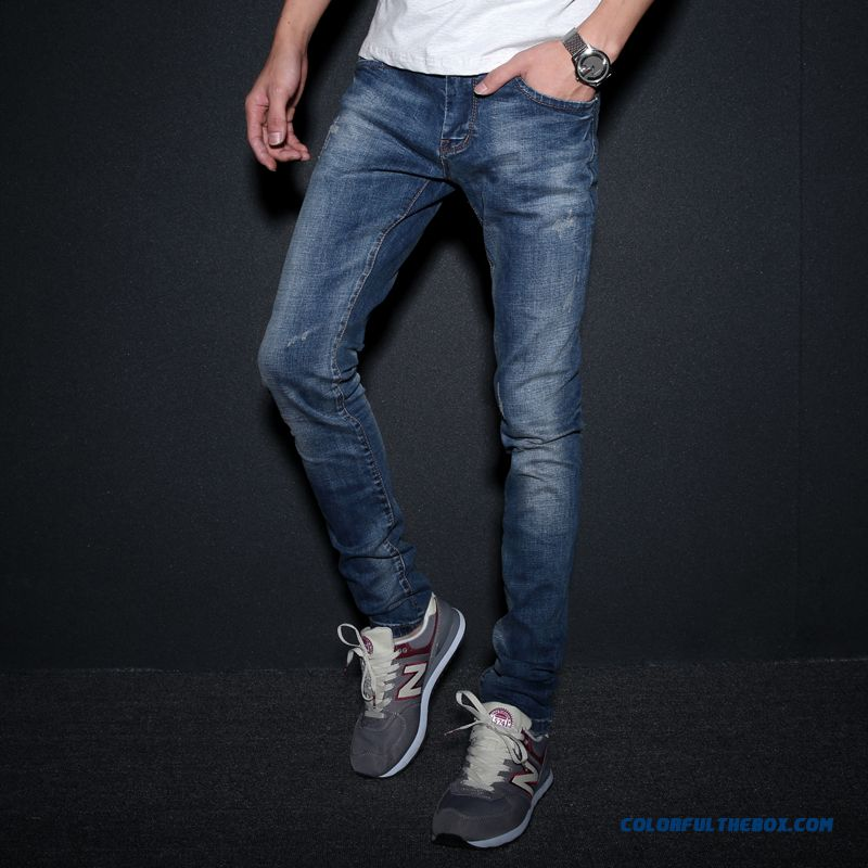 Big Promotion Special Offer Retro Slim Straight Men Jeans