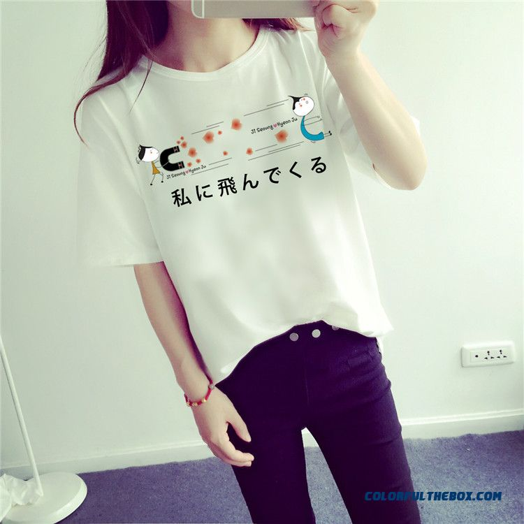 Blouses Slim Bottoming Shirt Short-sleeved T-shirt Women M-2xl Clothing Summer - more images 2
